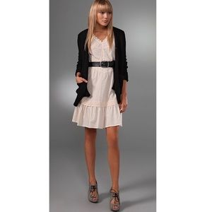 Marc Jacobs Effie Eyelet Dress in Tinted Pearl